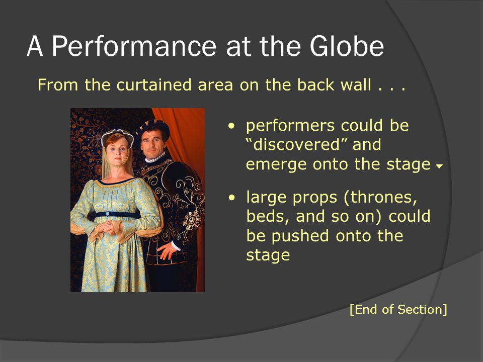A Performance at the Globe