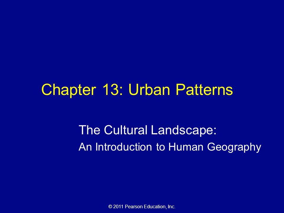 Chapter 13: Urban Patterns