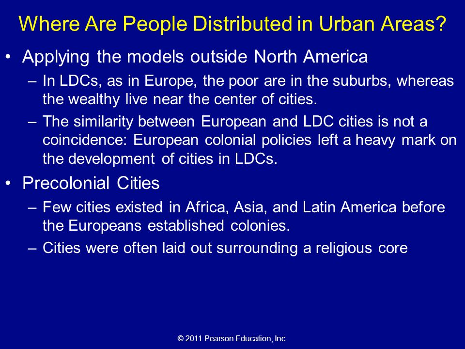 Where Are People Distributed in Urban Areas