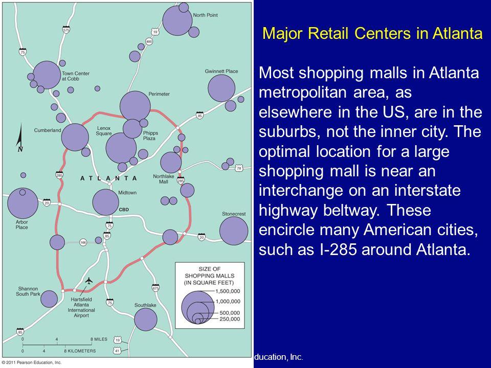 Major Retail Centers in Atlanta