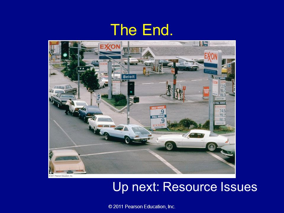 Up next: Resource Issues