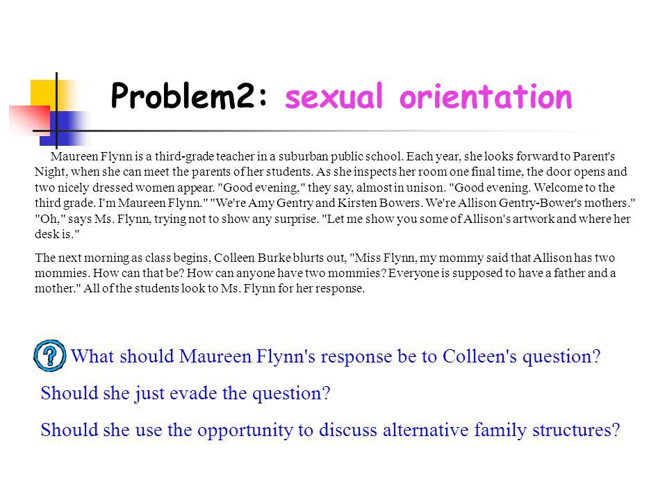 Problem2: sexual orientation