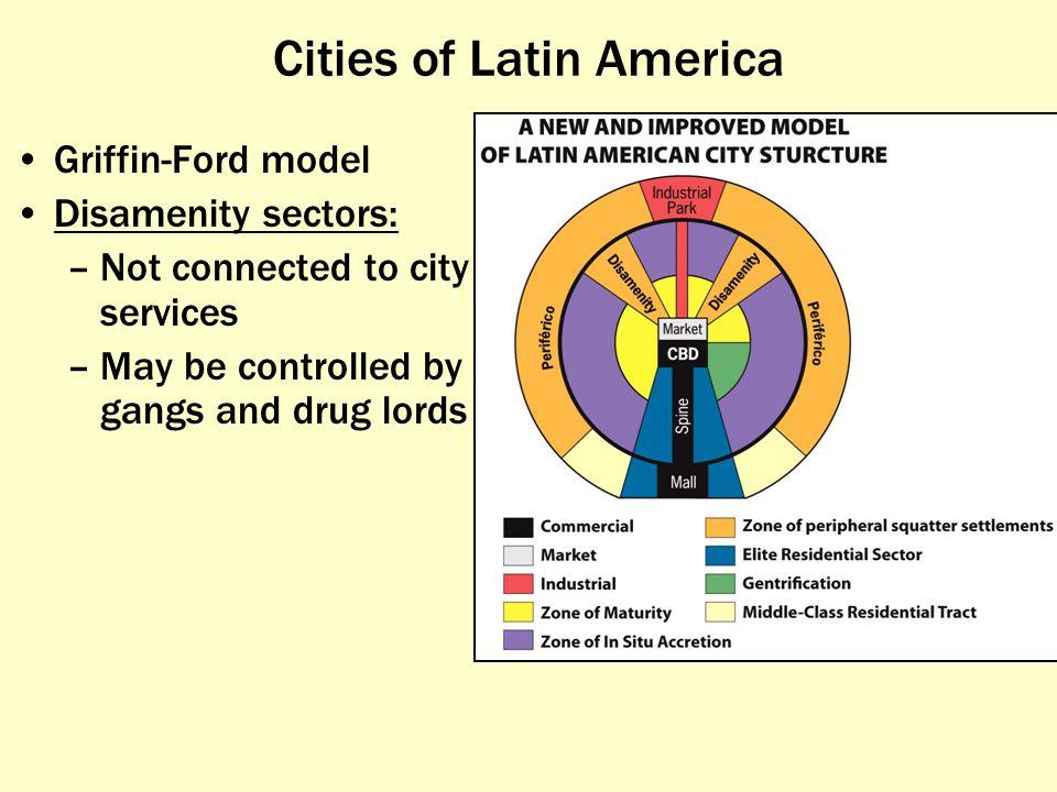 Cities of Latin America