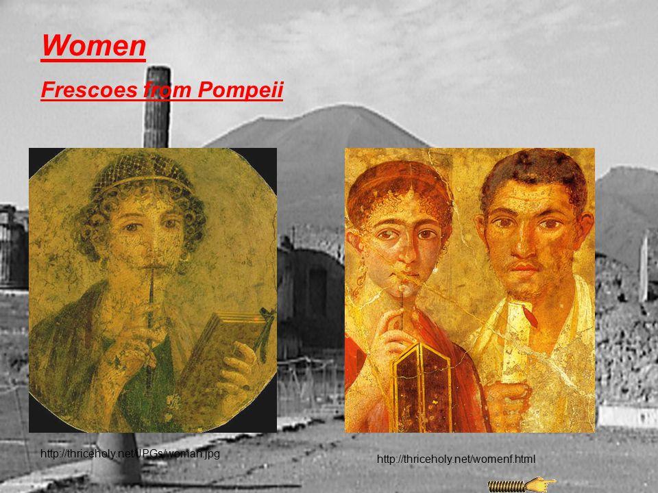 Women Frescoes from Pompeii http://thriceholy.net/JPGs/woman.jpg