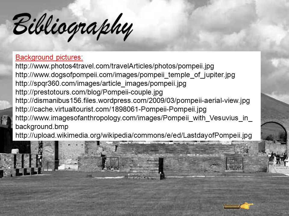 Bibliography Background pictures: