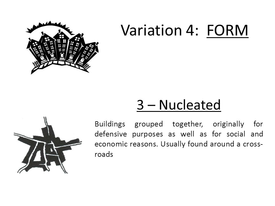 Variation 4: FORM 3 – Nucleated