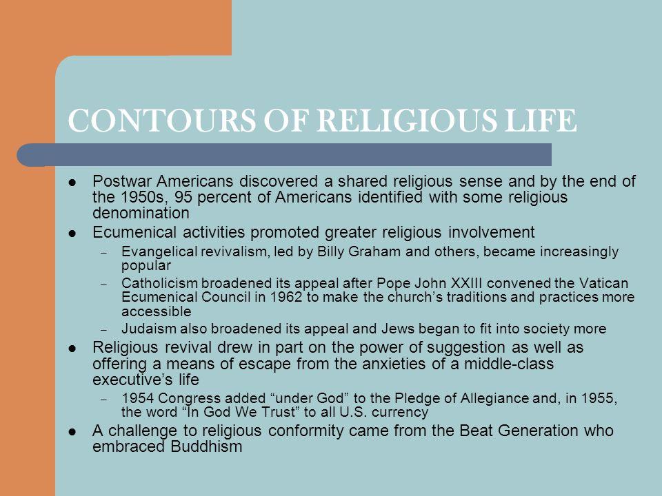 CONTOURS OF RELIGIOUS LIFE