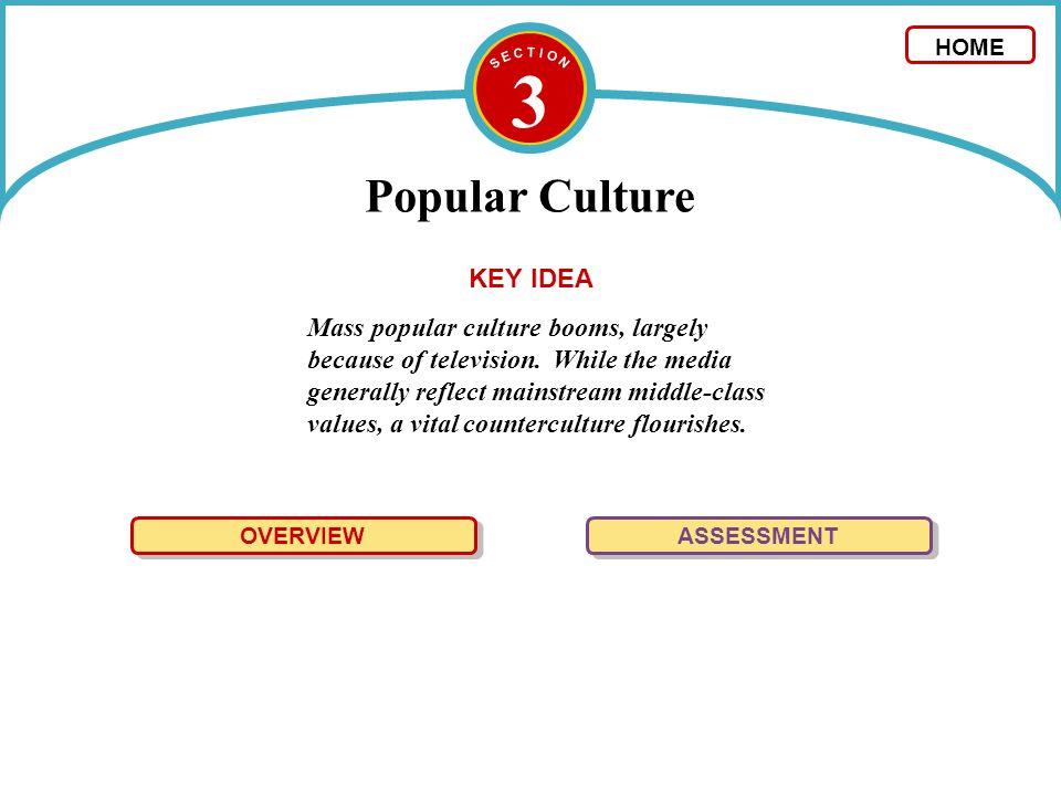 3 Popular Culture KEY IDEA