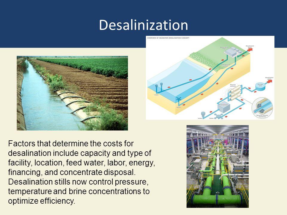 Desalinization