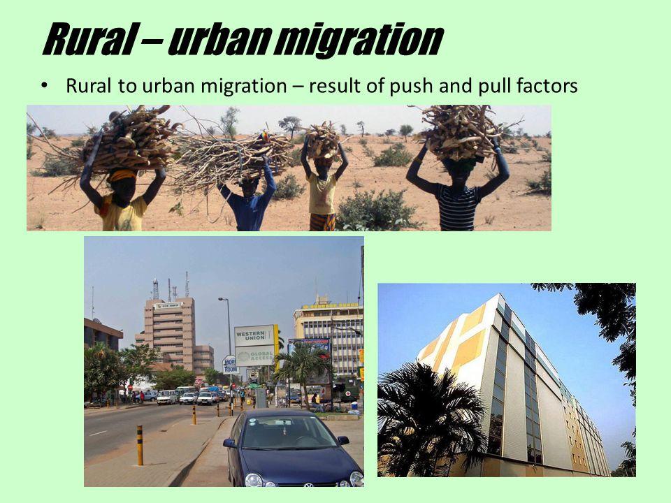 Rural – urban migration