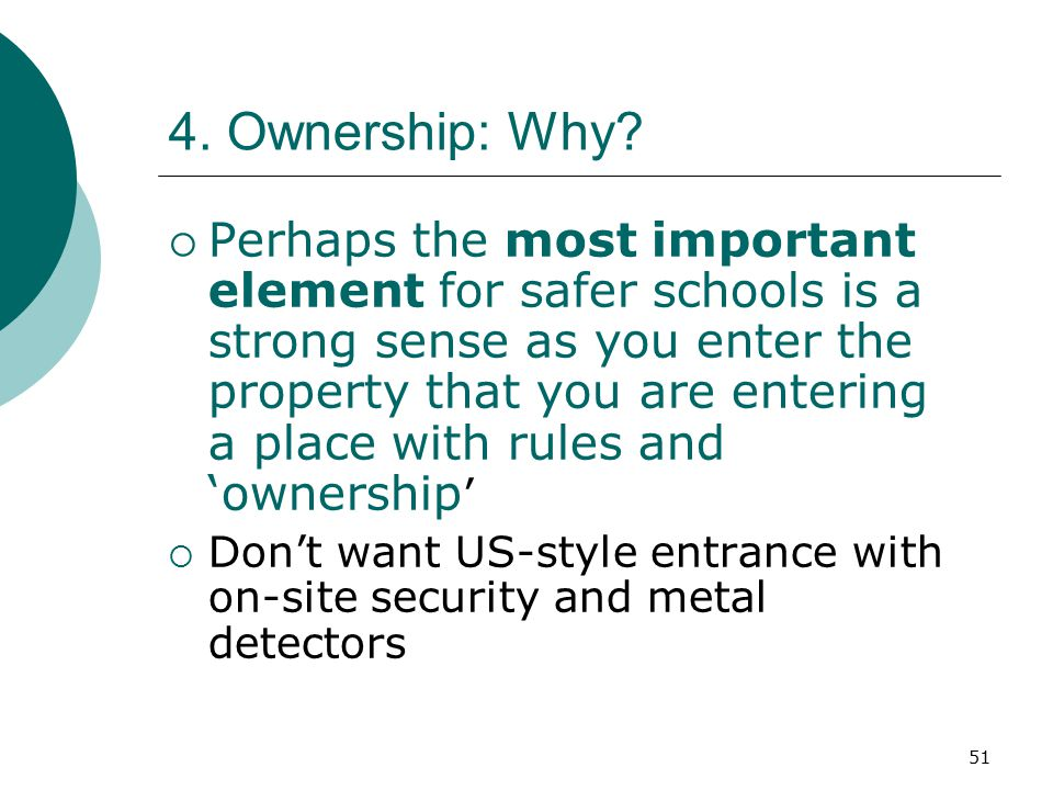4. Ownership: Why