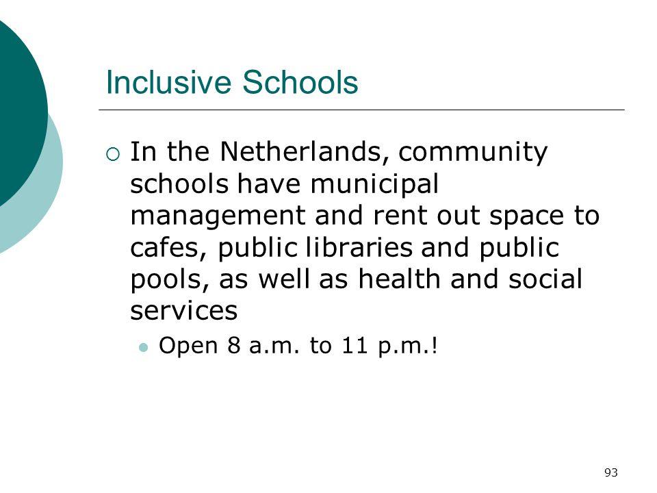 Inclusive Schools