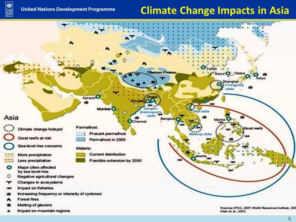 Climate Change Impacts in Asia