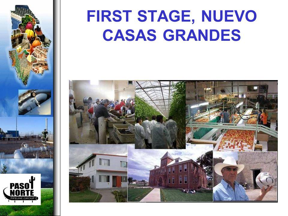 FIRST STAGE, NUEVO CASAS GRANDES