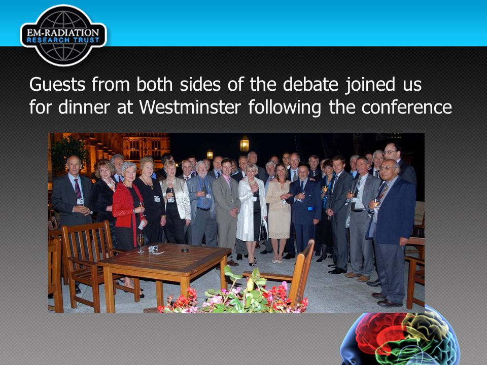 Guests from both sides of the debate joined us for dinner at Westminster following the conference
