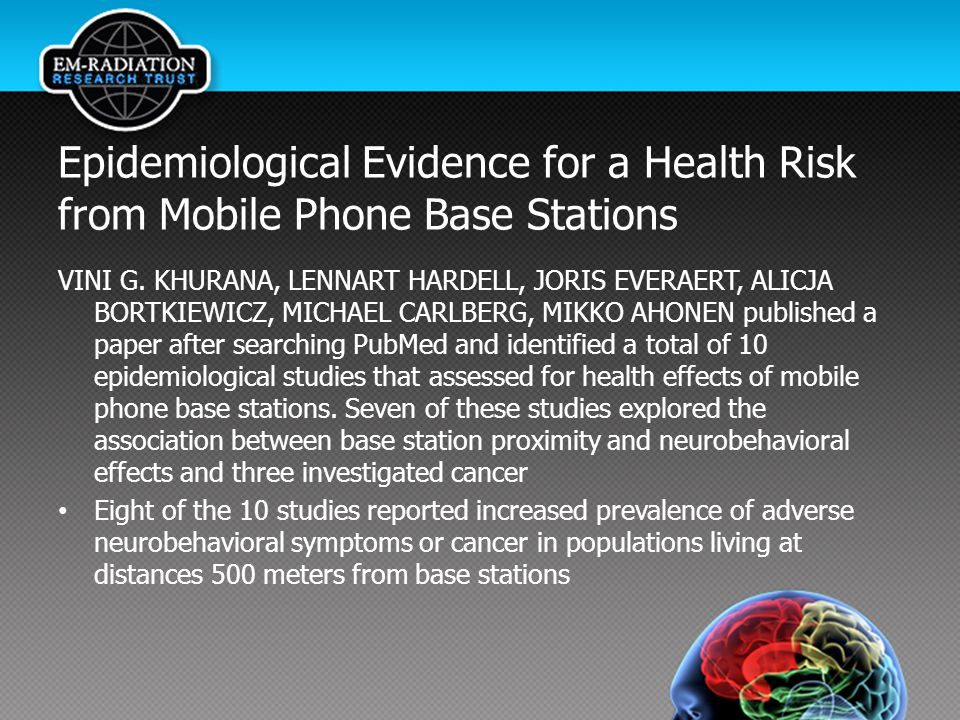 Epidemiological Evidence for a Health Risk from Mobile Phone Base Stations