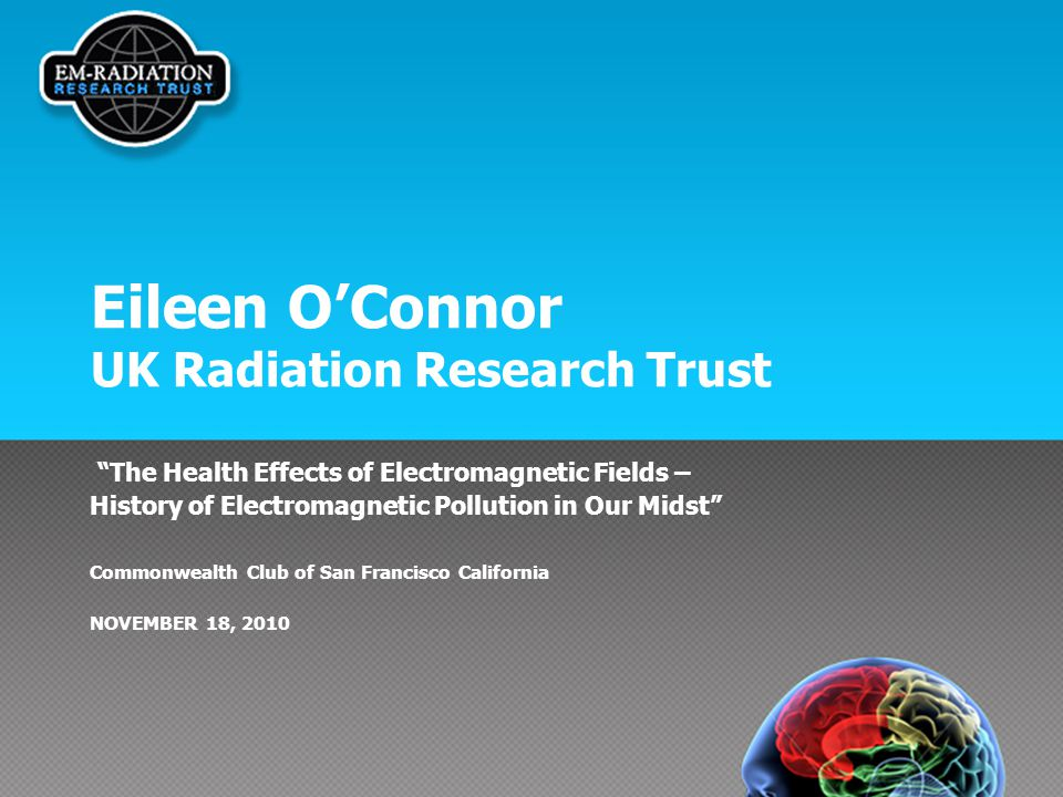 Eileen O'Connor UK Radiation Research Trust