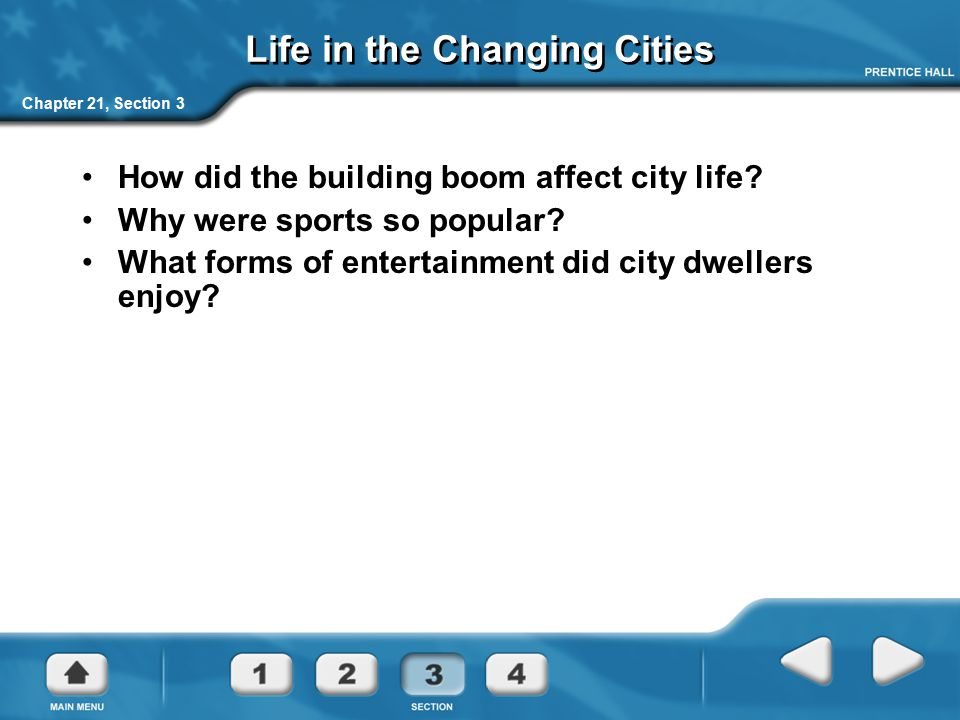 Life in the Changing Cities