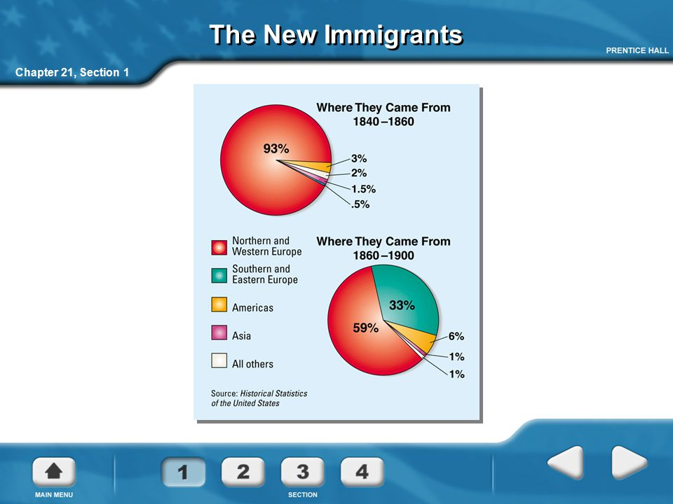The New Immigrants Chapter 21, Section 1