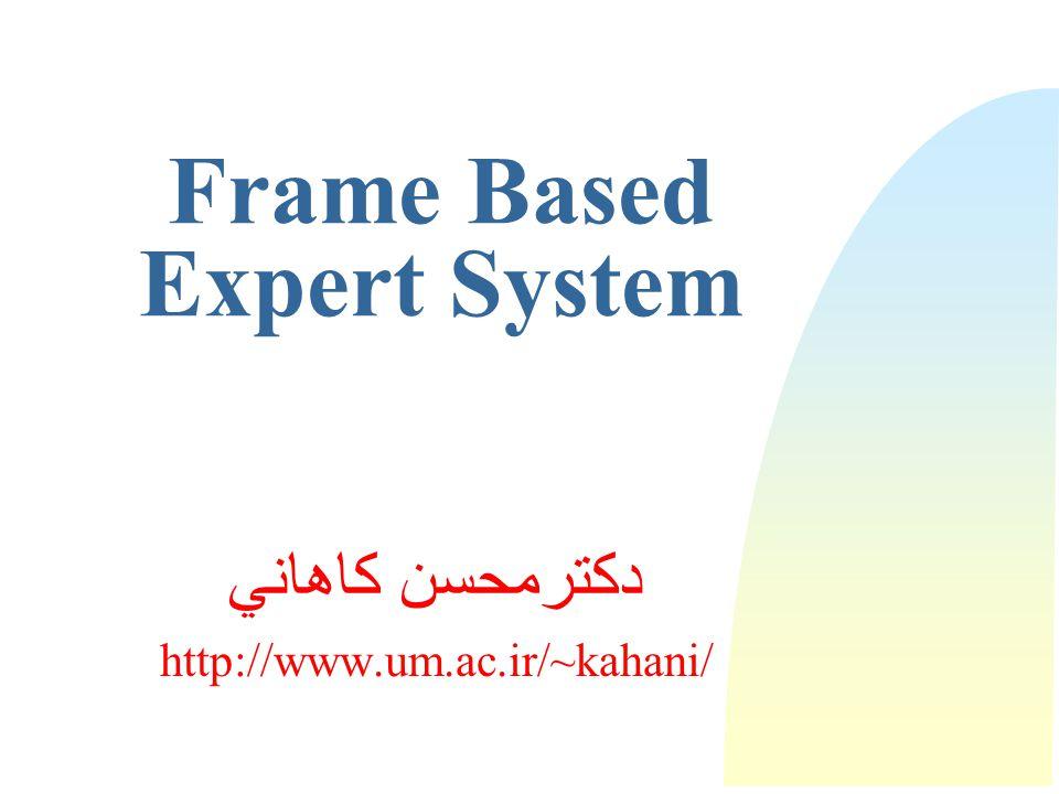 Frame Based Expert System