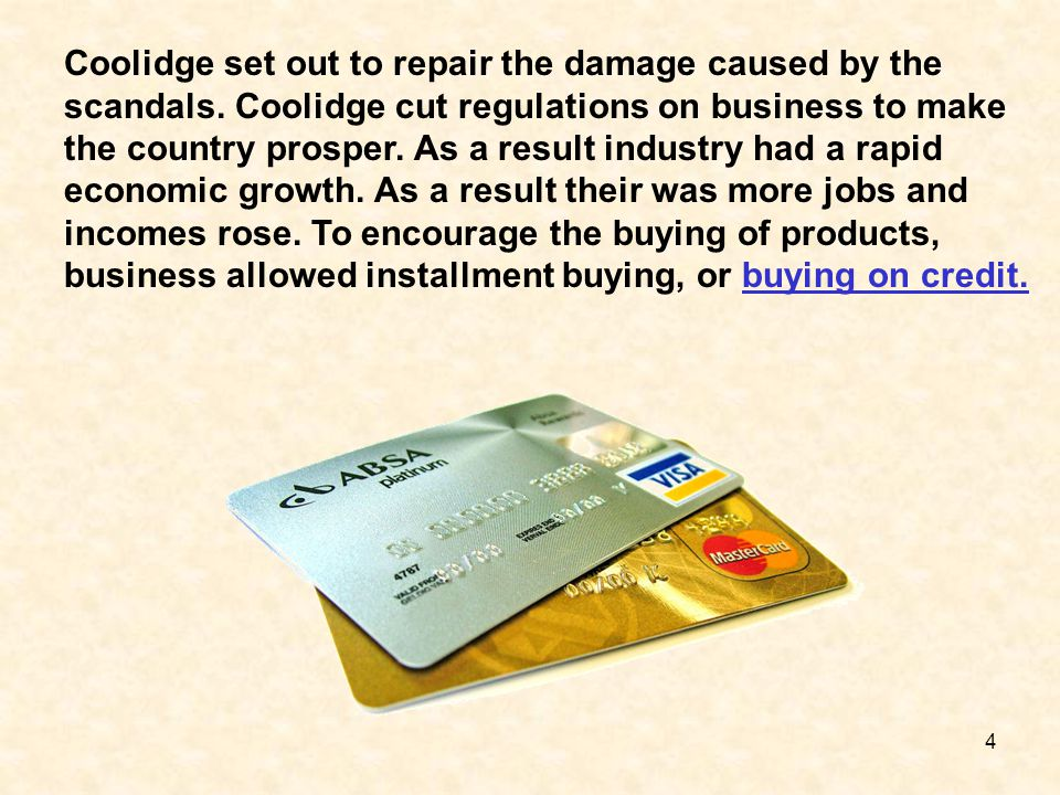 Coolidge set out to repair the damage caused by the scandals