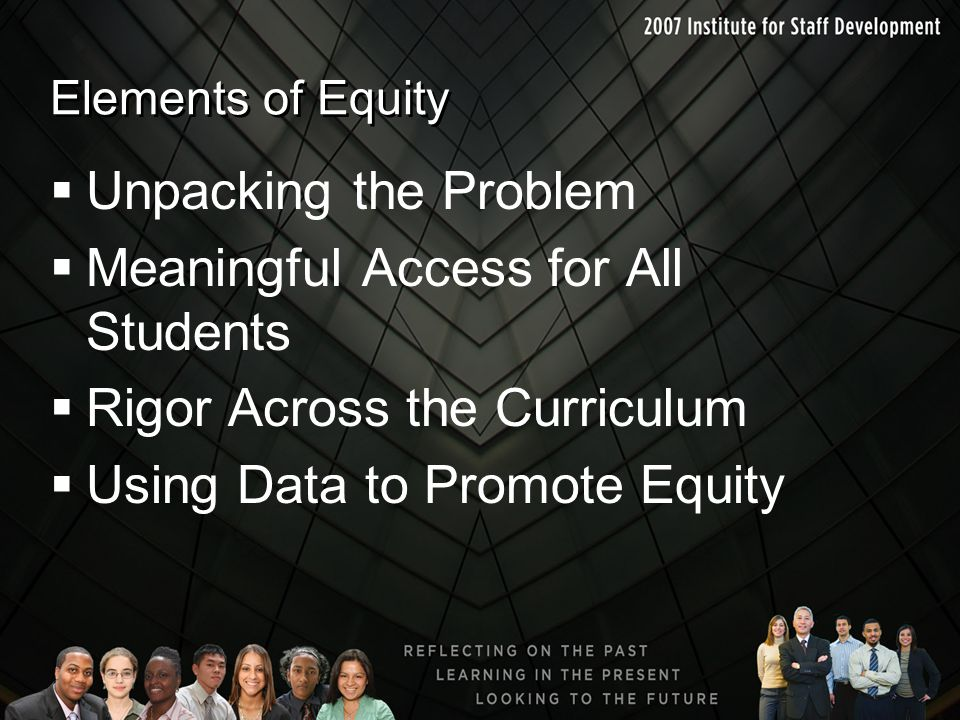 Meaningful Access for All Students Rigor Across the Curriculum