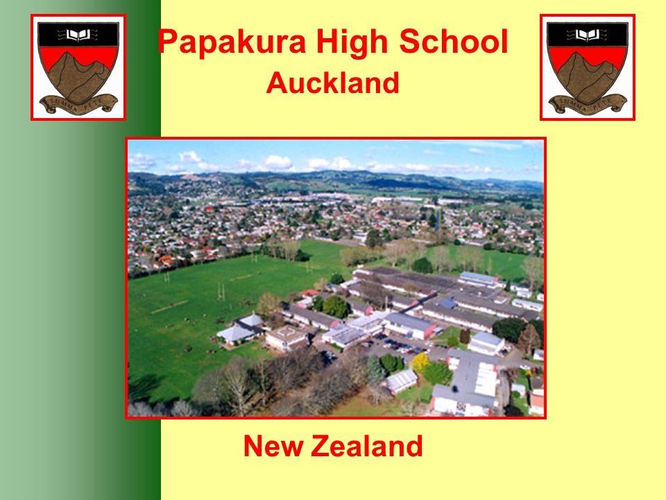 Papakura High School Auckland New Zealand