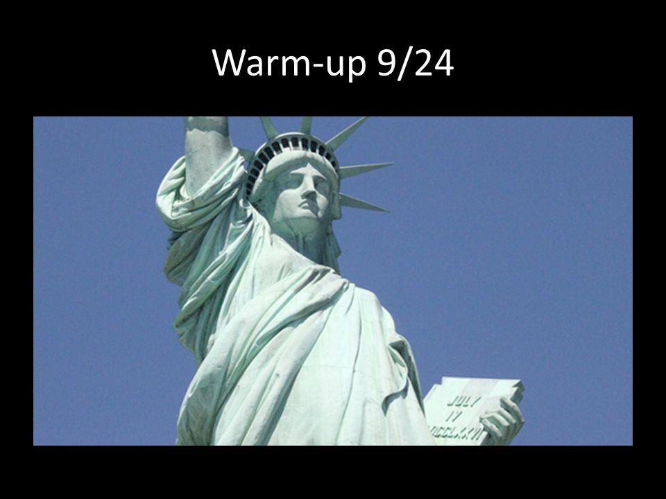 Warm-up 9/24