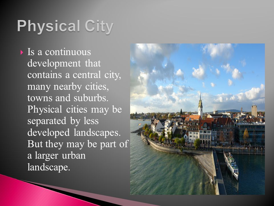 Physical City