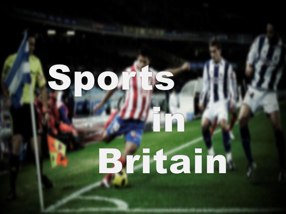 Sports in Britain