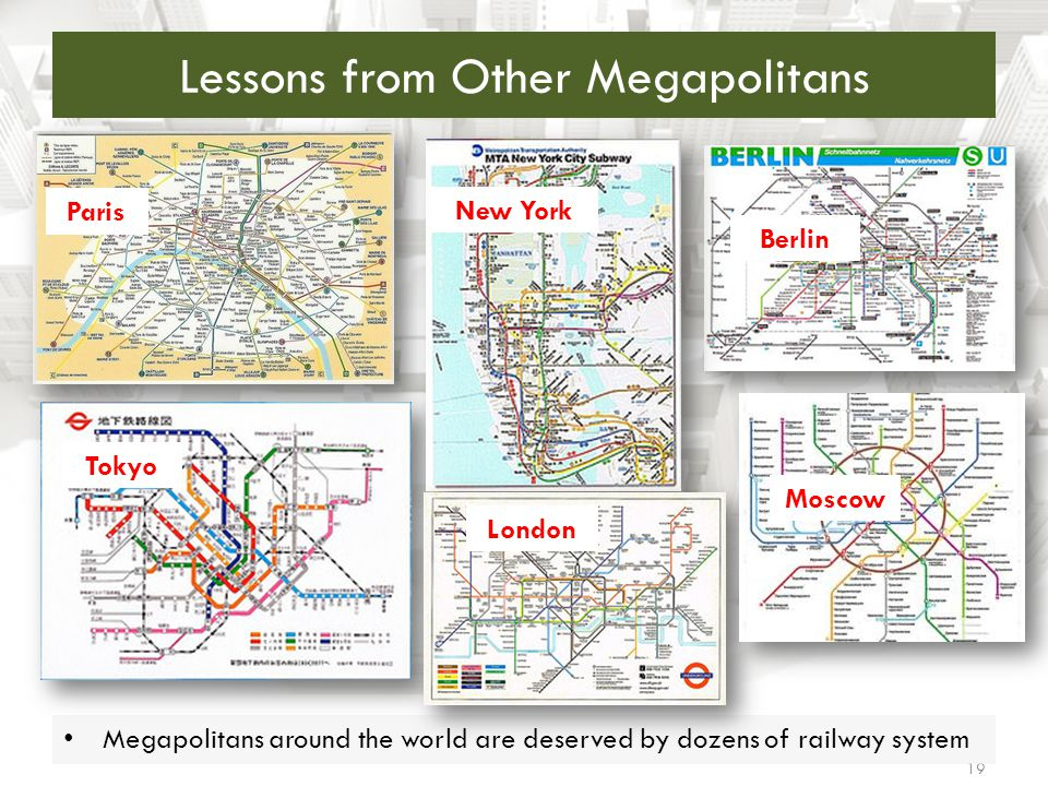 Lessons from Other Megapolitans