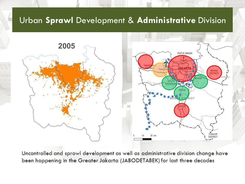 Urban Sprawl Development & Administrative Division