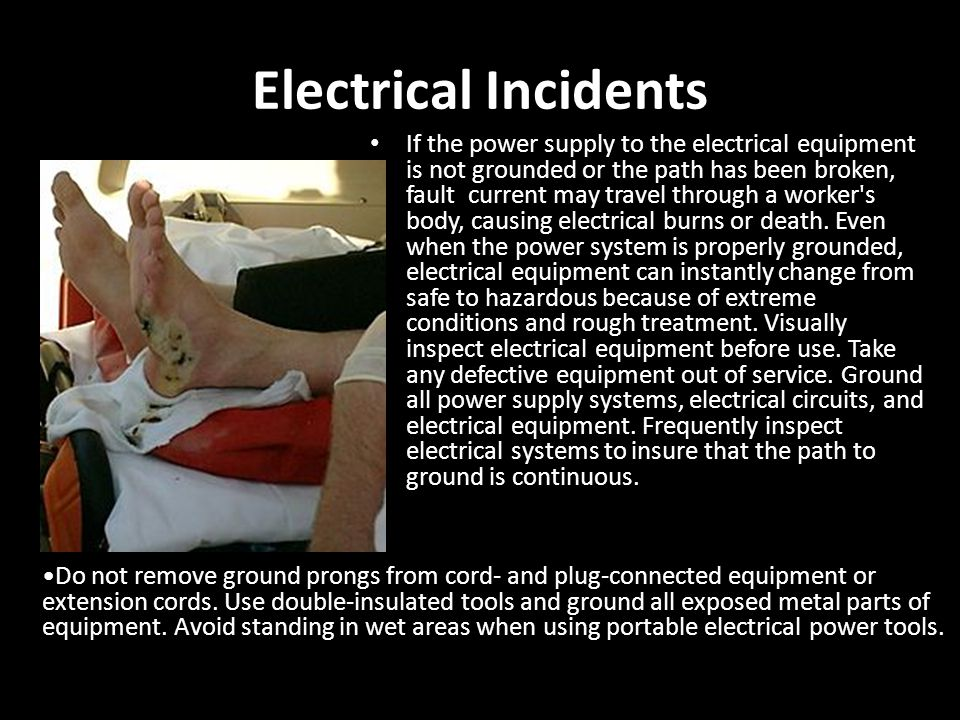 Electrical Incidents