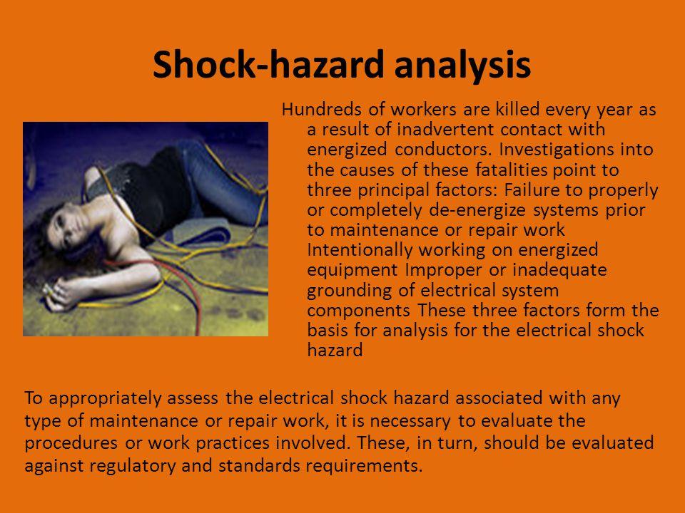 Shock-hazard analysis