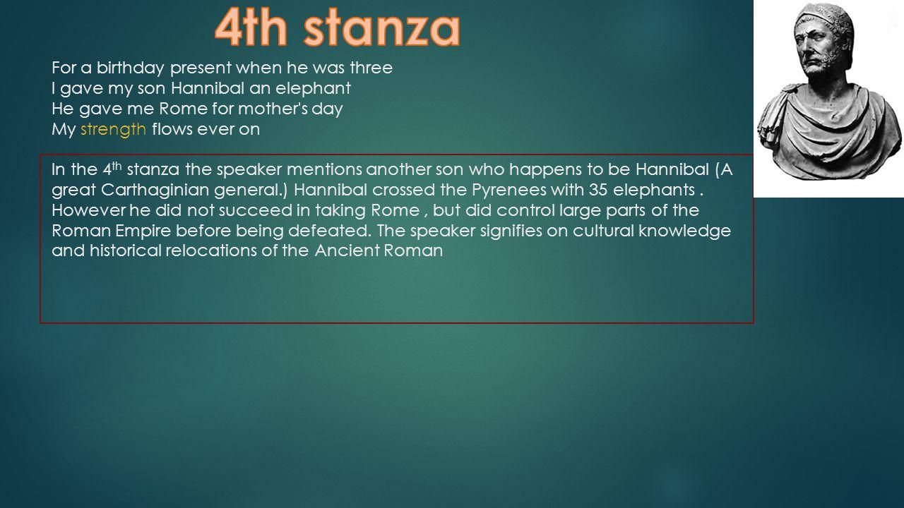 4th stanza