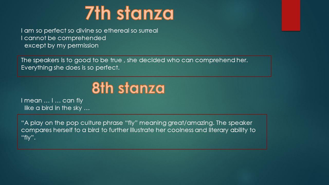 7th stanza