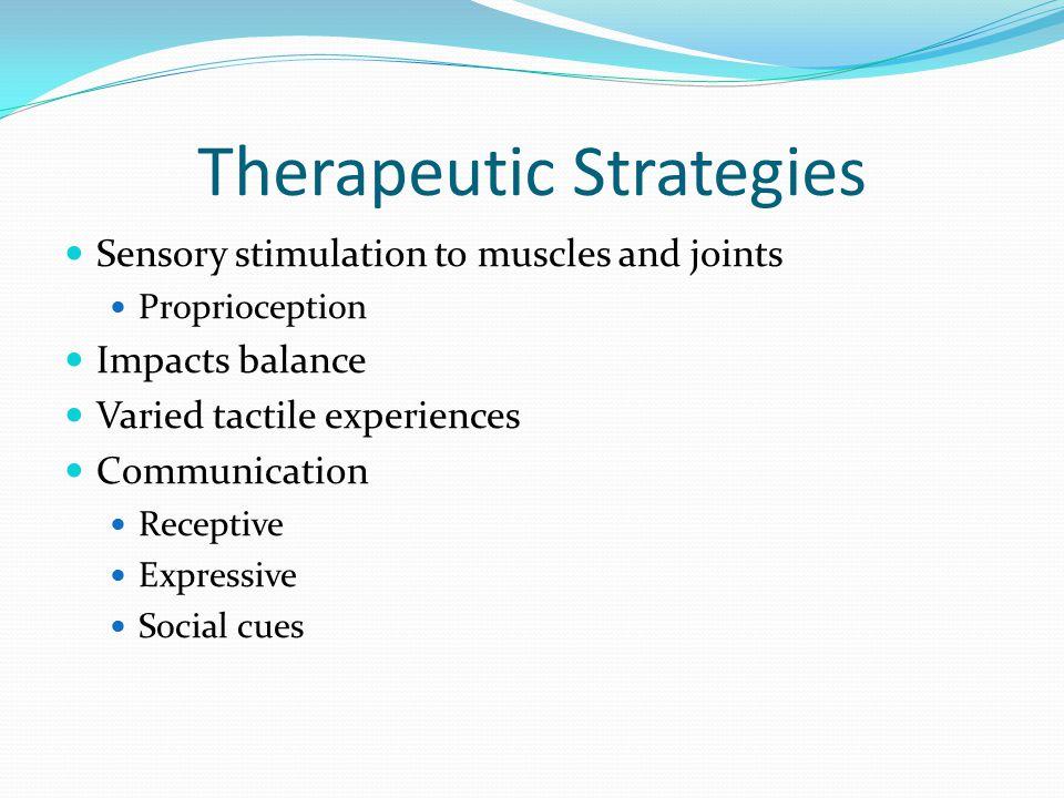 Therapeutic Strategies