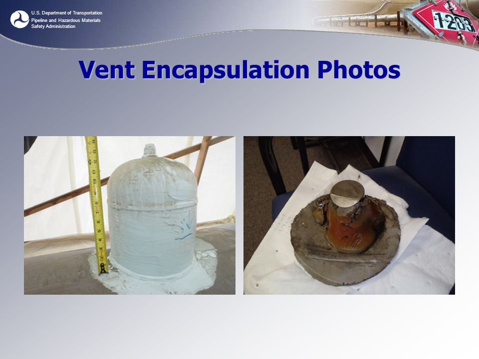 Vent Encapsulation Photos