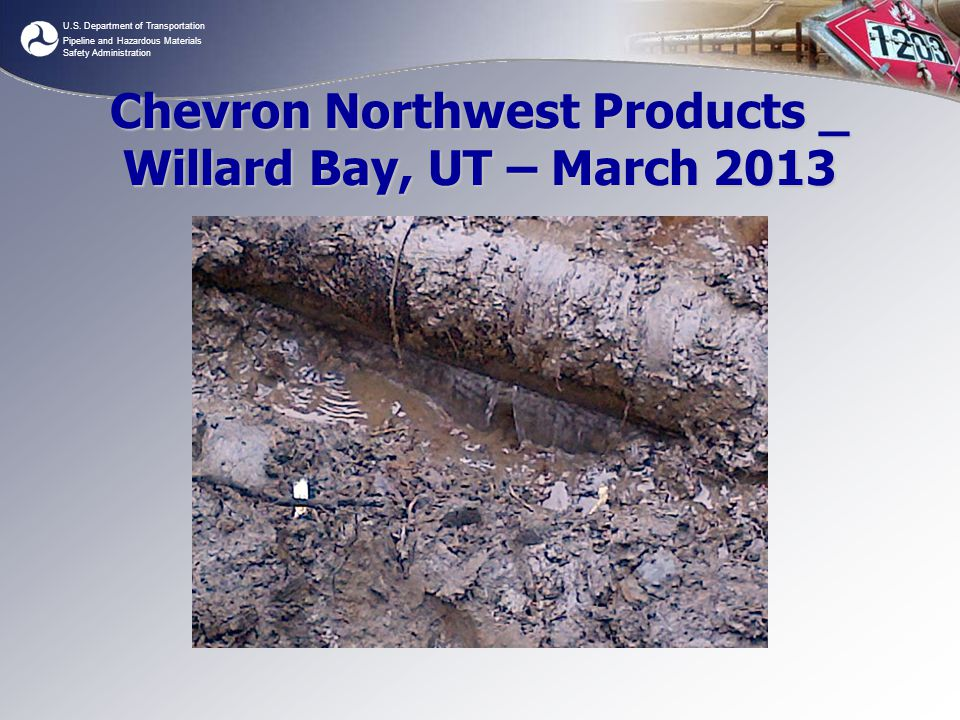 Chevron Northwest Products _ Willard Bay, UT – March 2013