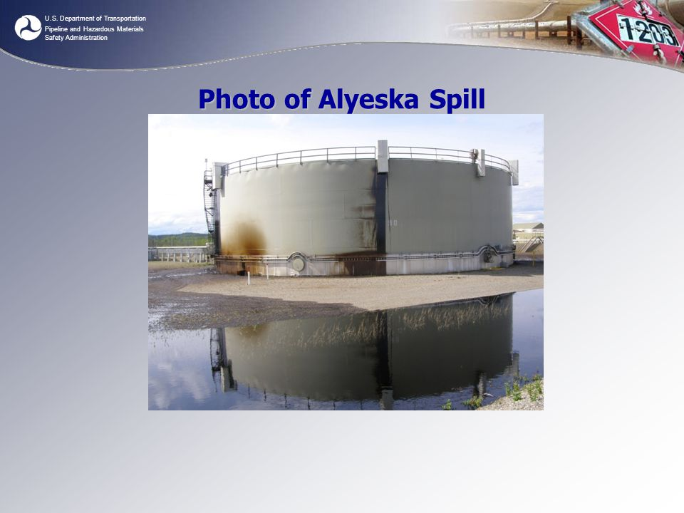 Photo of Alyeska Spill