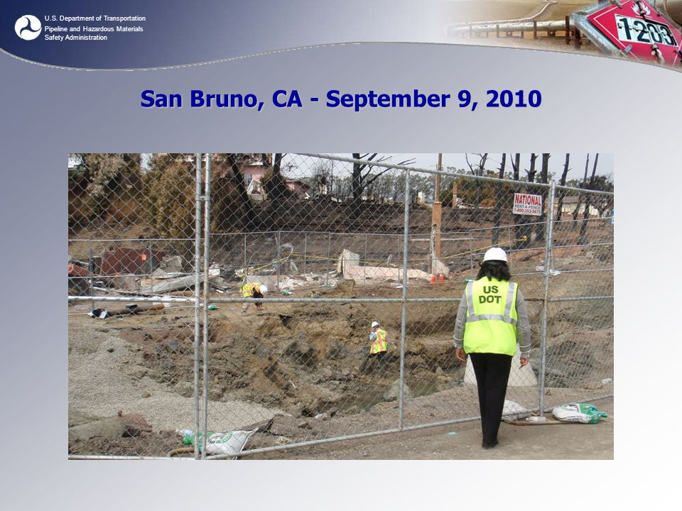 San Bruno, CA - September 9, 2010