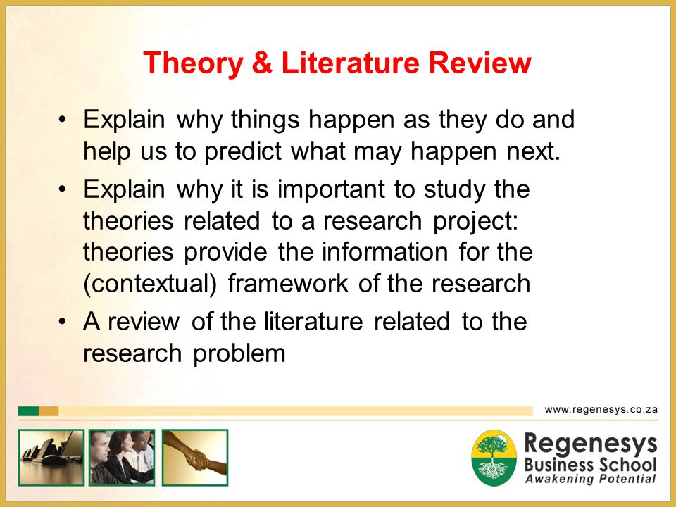 Theory & Literature Review