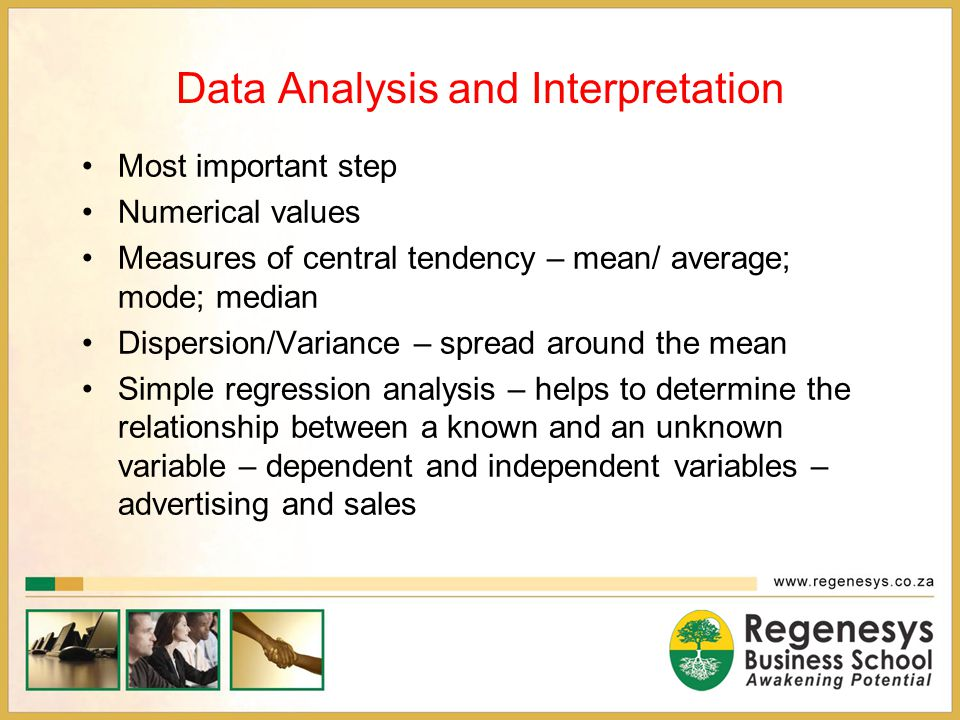 Data Analysis and Interpretation
