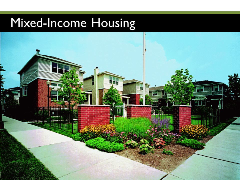 Mixed-Income Housing IN Economic Development Conference | January 12, 2012 | © Greenstreet Ltd.