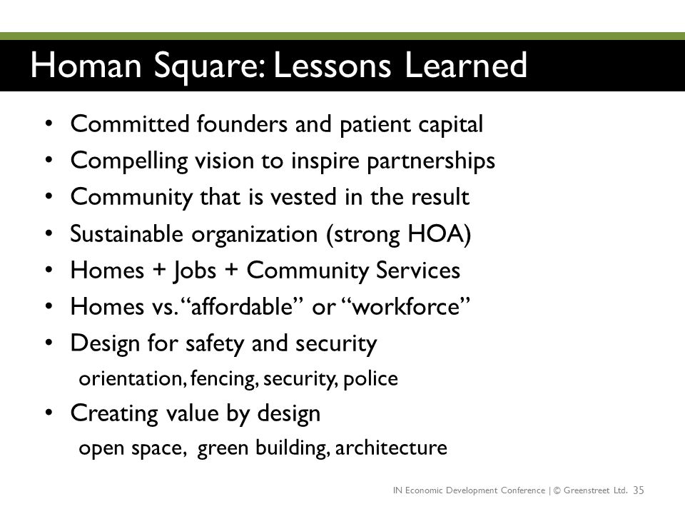 Homan Square: Lessons Learned
