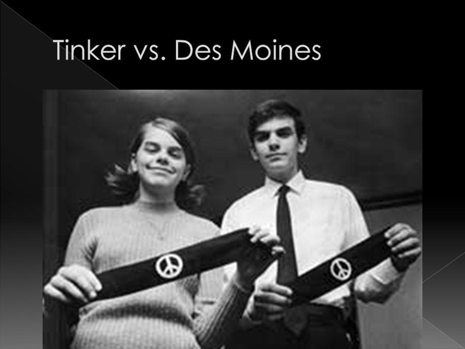 Tinker vs. Des Moines