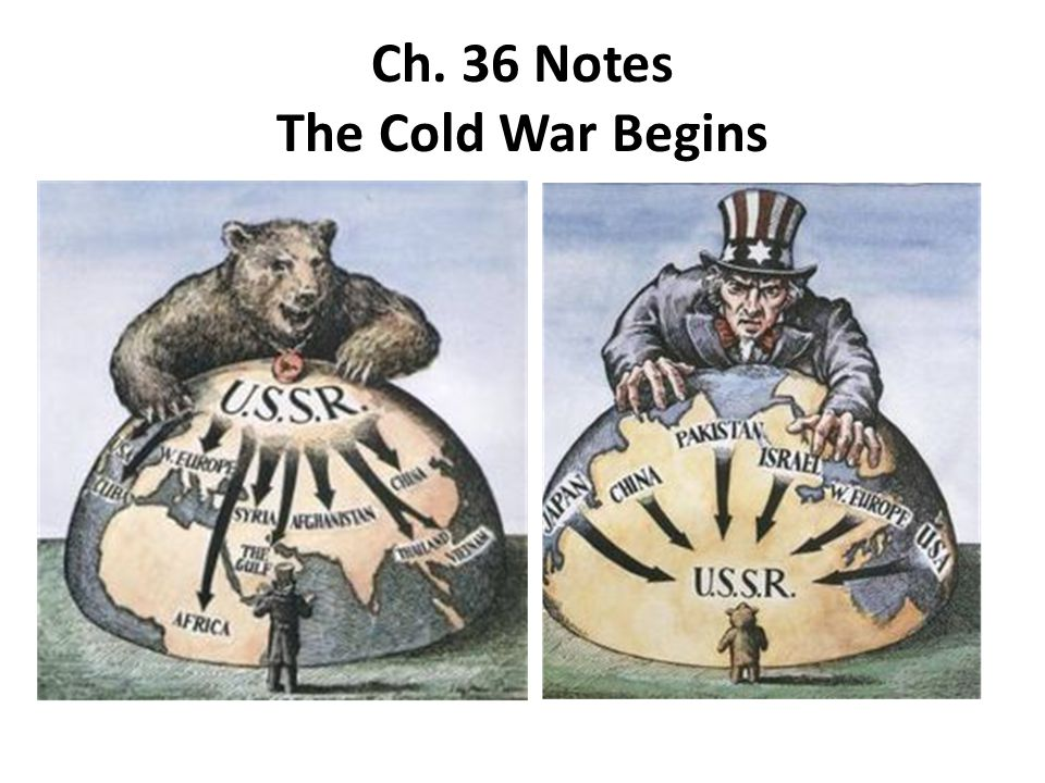 Ch. 36 Notes The Cold War Begins