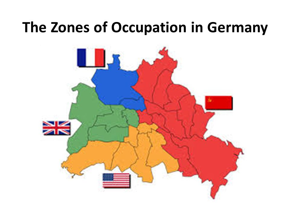 The Zones of Occupation in Germany