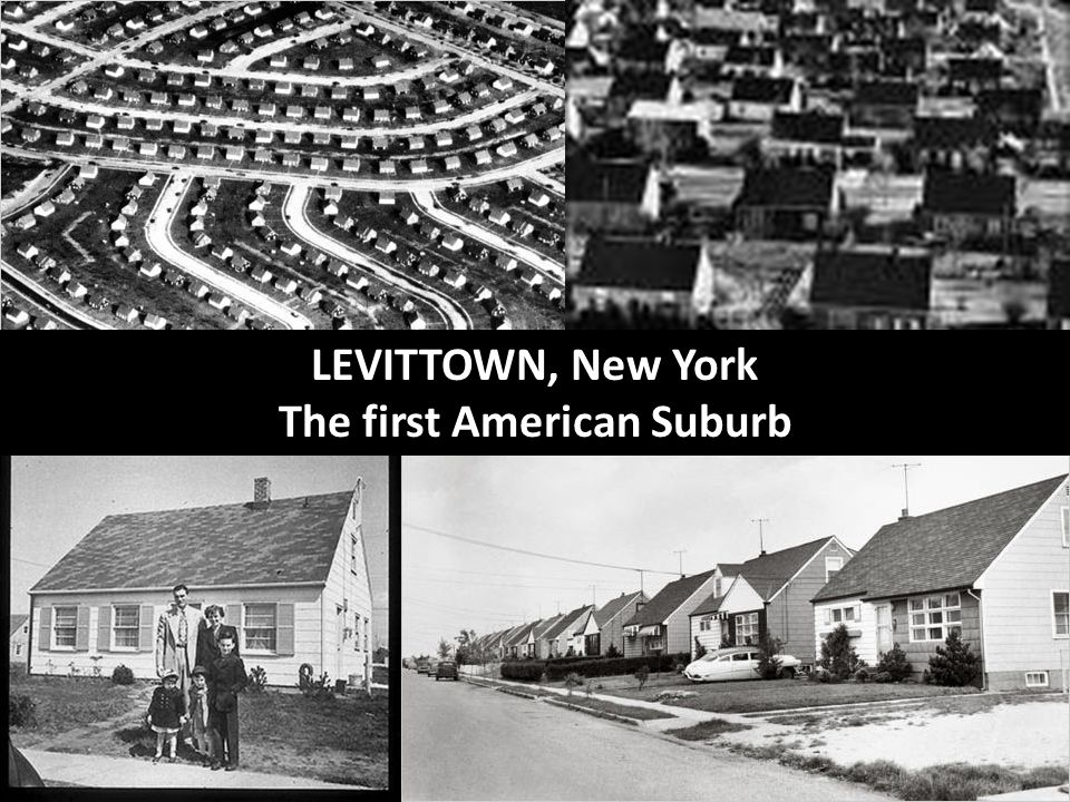 The first American Suburb