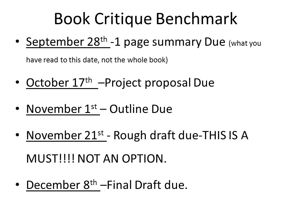 Book Critique Benchmark